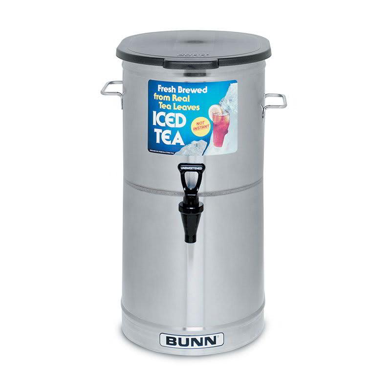 Bunn TDO-4-0000 4-gal Oval Iced Tea Coffee Dispenser w/ Handles (34100.0000)