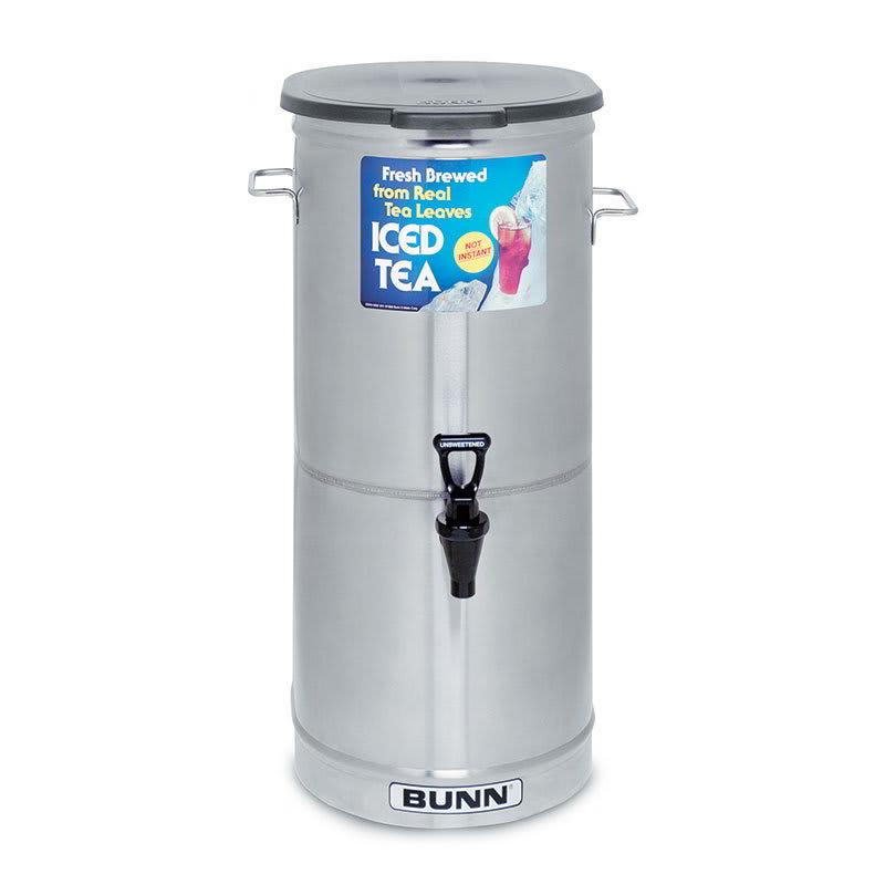 Bunn TDO-5-0001 5-gal Oval Iced Tea Coffee Dispenser w/ Handles (34100.0001)