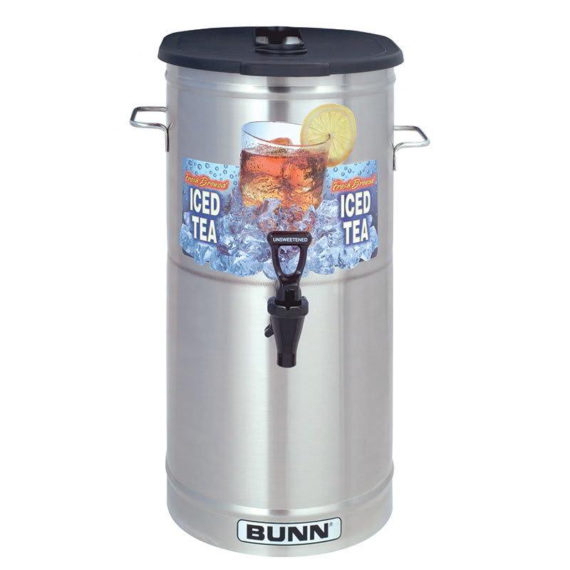 Bunn TDO-4-0002 TDO-4 Iced Tea Dispenser, Oval, Brew-Through Plastic Lid, 4 Gallon (34100.0002)