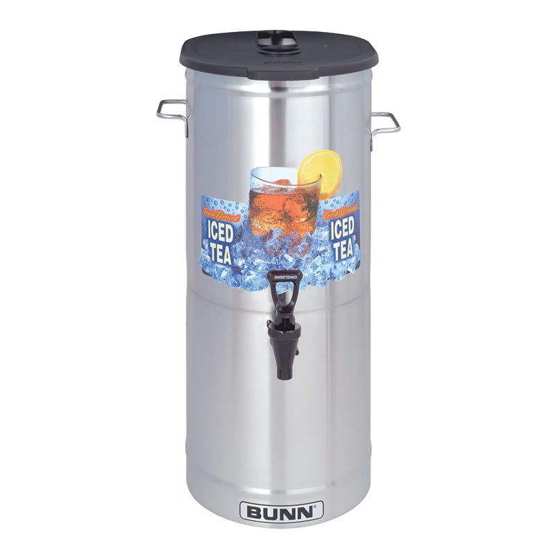 Bunn TDO-5 5 gal Oval Iced Tea Coffee Dispenser w/ Handles (34100.0003)
