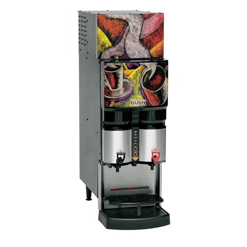 Bunn LCR-2-0039 Refrigerated Liquid Coffee Dispenser w/ (2) Dispense Heads, 120v (34400.0039)