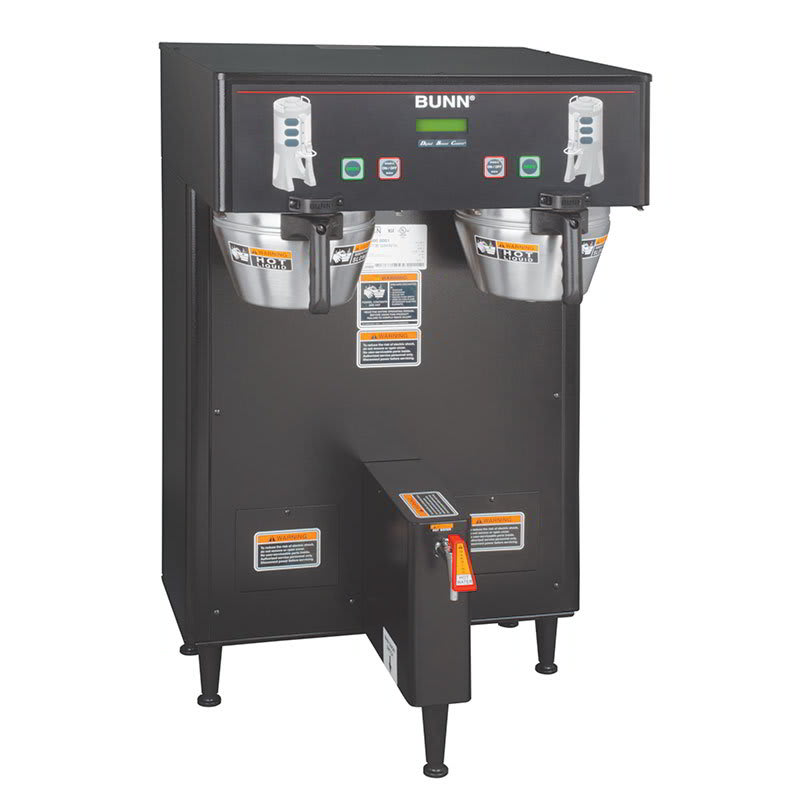 Bunn TF-DUAL-DBC-0003 Dual Satellite Digital Coffee Brewer, Black Finish, 120-240v/1ph (34600.0003)