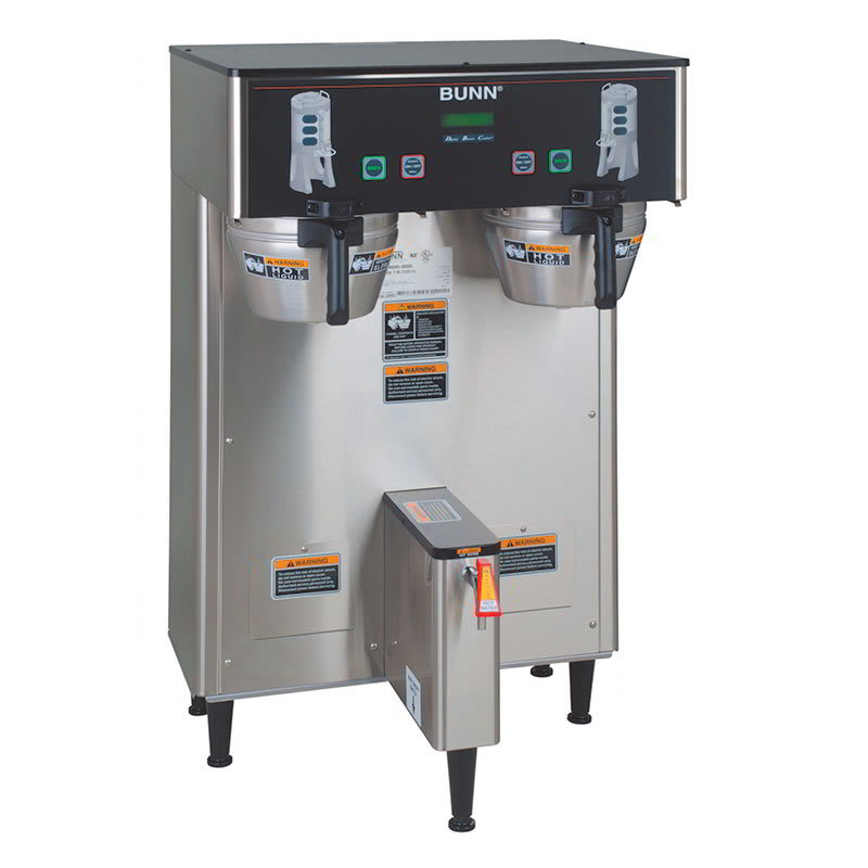 Bunn TF-DUAL-DBC-0004 Dual TF DBC Dual Satellite Digital Coffee Brewer, Stainless, 120-208v/1ph (34600.0004)