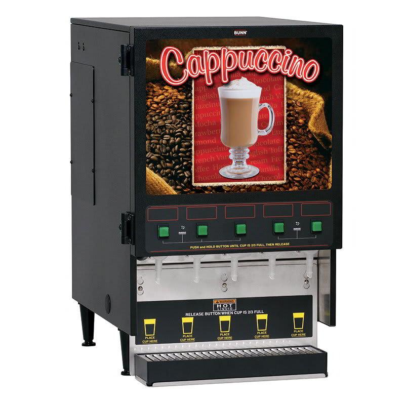 Bunn FMD-5 FMD-5 BLK Hot Powdered Drink Machine, 5 Hoppers (34900.0000)