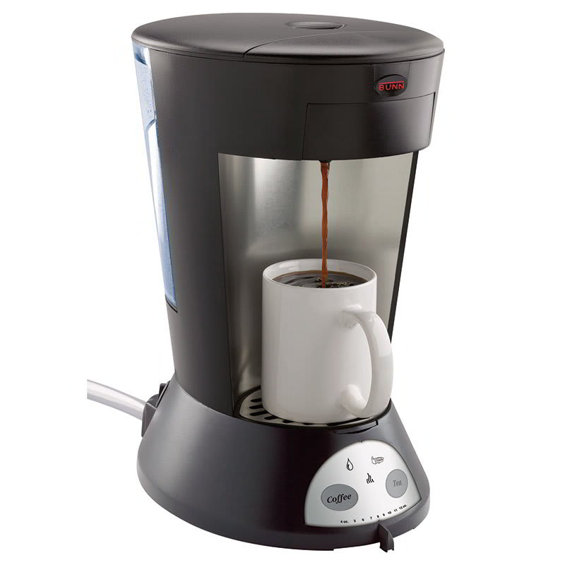 Bunn MCA MCA My Cafe Pod Brewer Automatic, 1 Cup, Coffee & Tea (35400.0009)