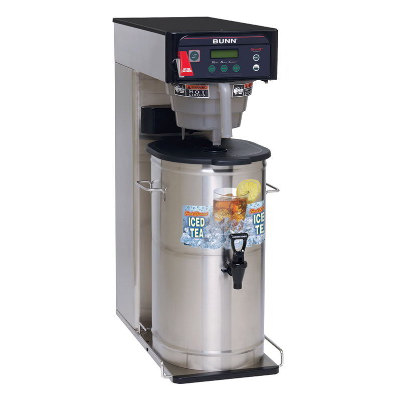 "Bunn ITCB-DV ITCB-DV Infusion Tea Coffee Brewer, 25.75"" Trunk, Dual Voltage (35700.0001)"