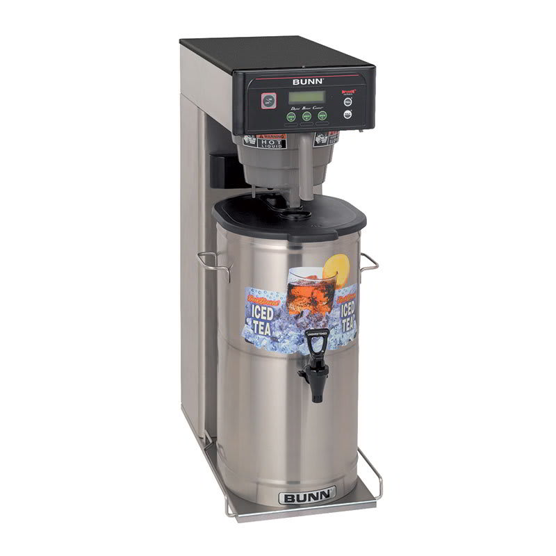 Bunn ITCB-DV-0033 3-5 Gallon Infusion Tea/Coffee Brewer, With Sweetener, 208-240v/1ph (35700.0033)