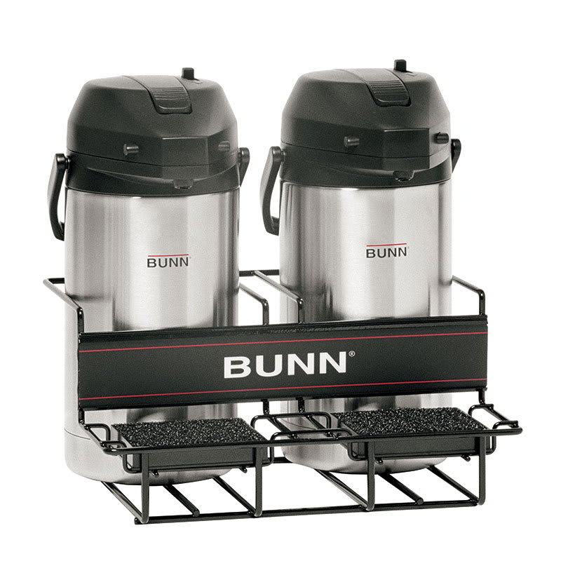 Bunn UNIV-2 APR UNIV-2 APR Universal Airpot Rack, For 2 Airpots, Holds 2 Lower (35728.0001)