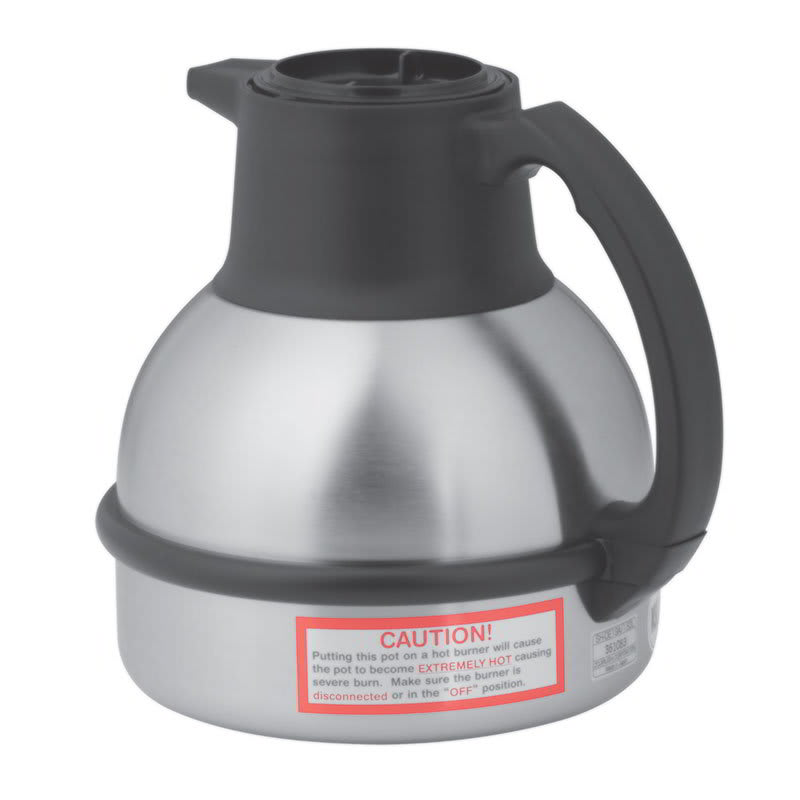 Bunn TC-0001 Thermal Carafe w/ 64-oz Capacity & Brew-Thru Lid, Vacuum Insulation, Stainless (36029.0001)
