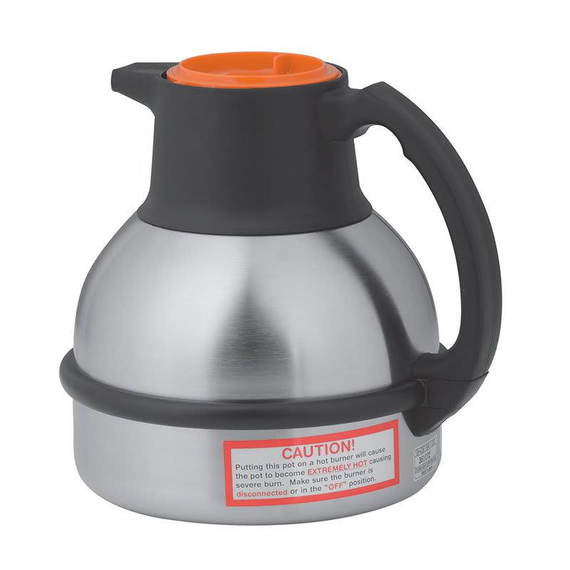 Bunn TC-OR-0001 Thermal Carafe, 1.85 Liters, S/S Liner, Orange Lid (36252.0001)