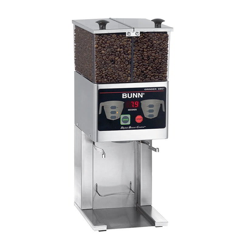 Bunn FPG-2 DBC FPG-2 DBC Coffee Grinder For French Press, 2 Hoppers, Digital (36400.0000)