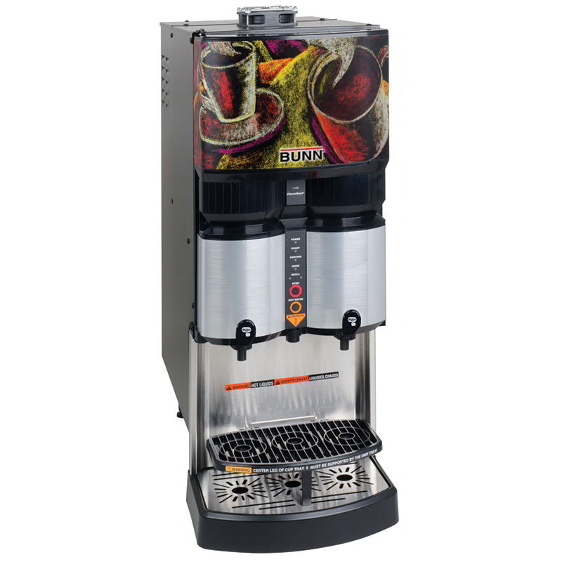 Bunn LCA-2 PC Liquid Coffee Ambient Dispenser w/ (2) Dispense Heads, 120v (36500.0001)