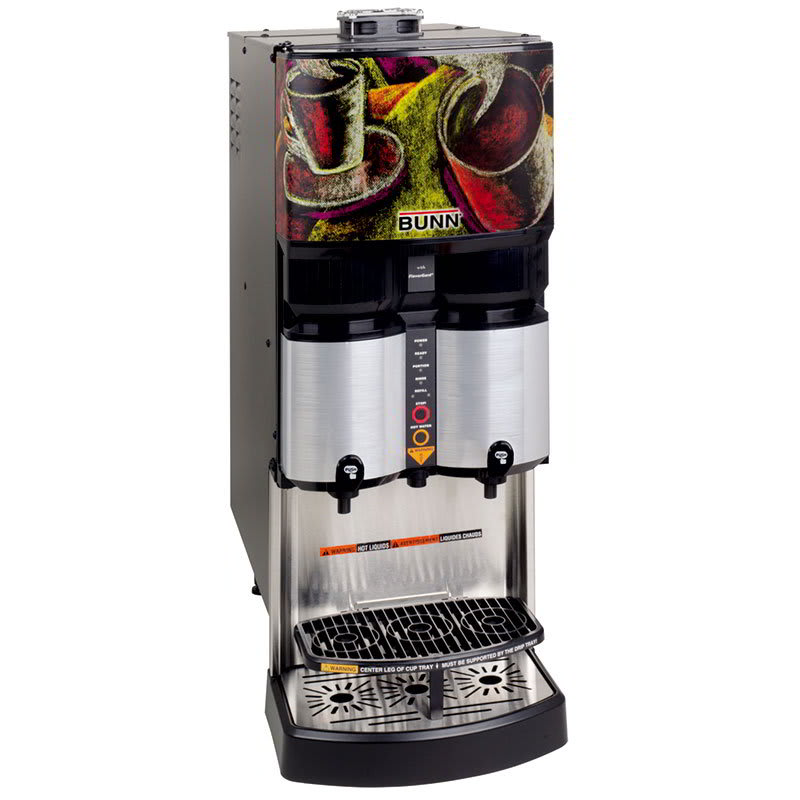 Bunn LCA-2-PC-0031 Liquid Coffee Dispenser w/ 2-Heads & Portion Control, Ratio up to 45-to 1 (36500.0031)