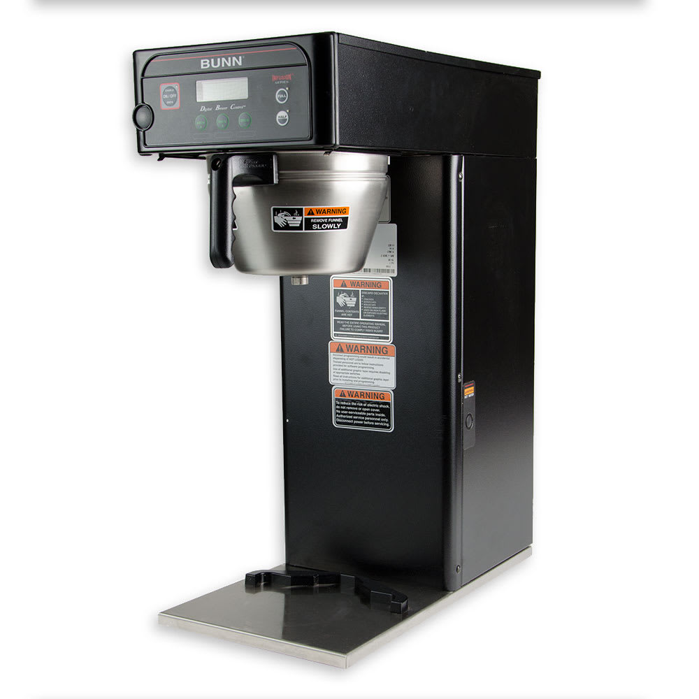 Bunn ICB-DV 3-gal Infusion Coffee Brewer, English/Spanish Display, Stainless, Dual Voltage (36600.0000)