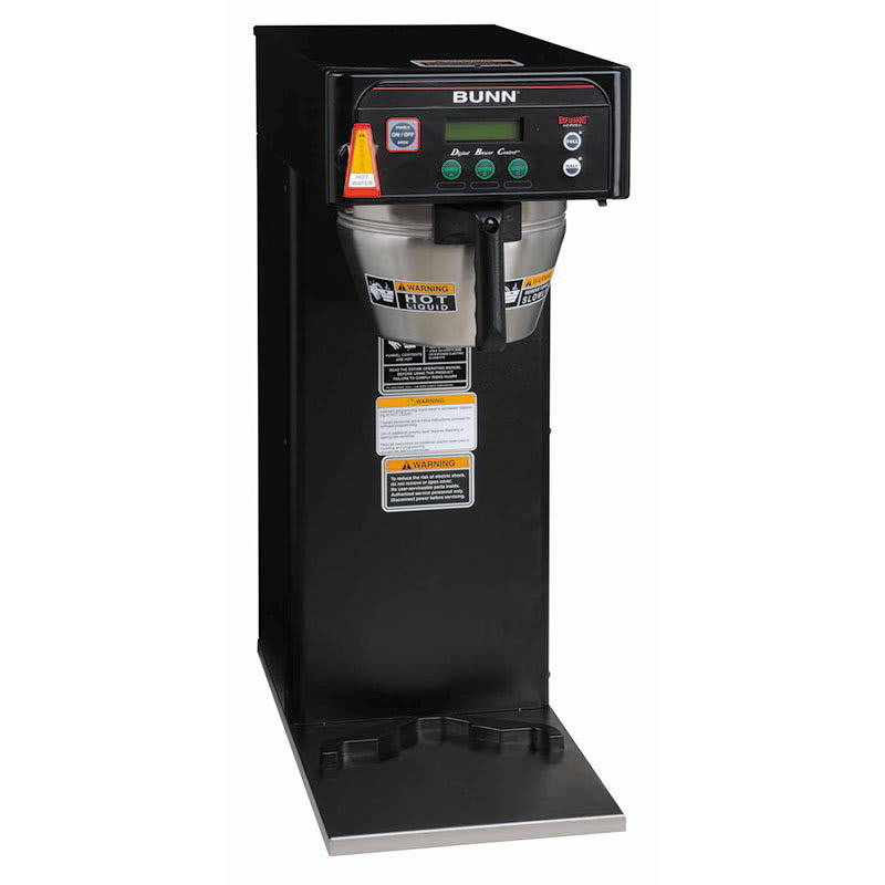 Bunn ICB-DV 3 Gal Infusion Coffee Brewer, English/Spanish Display, Black, Dual Voltage (36600.0004)
