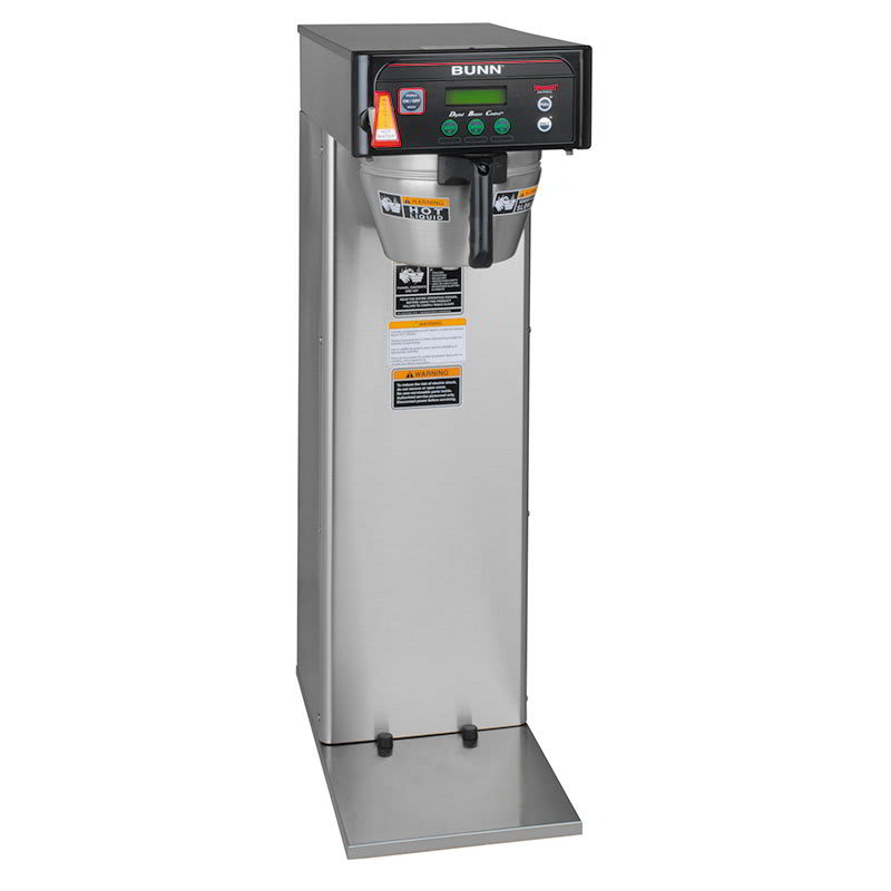 Bunn ICB-DV Tall Automatic Coffee Brewer w/ 3 Brew Buttons & Digital Display (36600.0005)