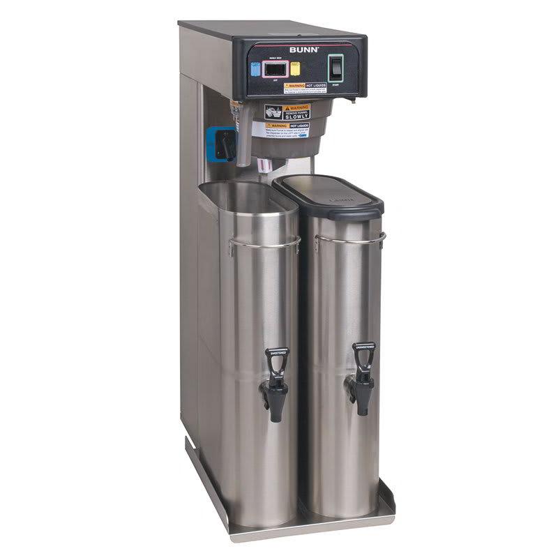 Bunn TB6 6 Gallon Automatic Twin Iced Tea Brewer, Rotating Brew Baskets, 120 V (36700.0300)