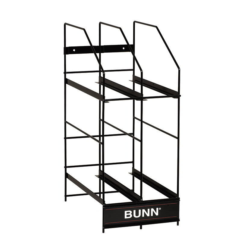 Bunn MHG-RACK-4-0001 Hopper Rack, 4 Position, For MHG 6 lb Hoppers (36760.0001)