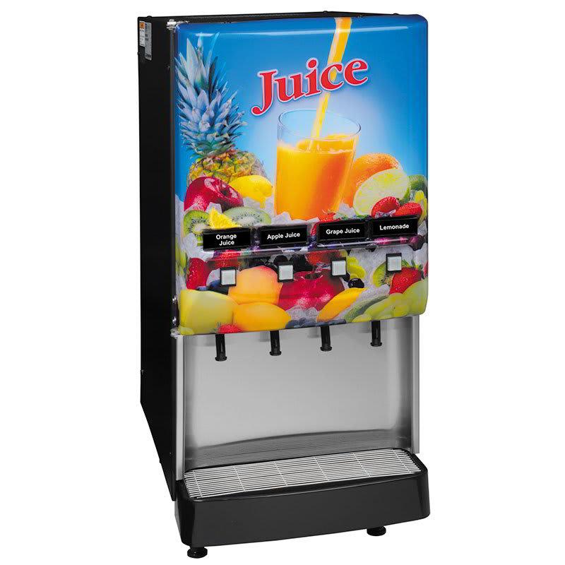 Bunn JDF-4S 4 Flavor Cold Beverage System, Juice Display, 120v (37300.0004)