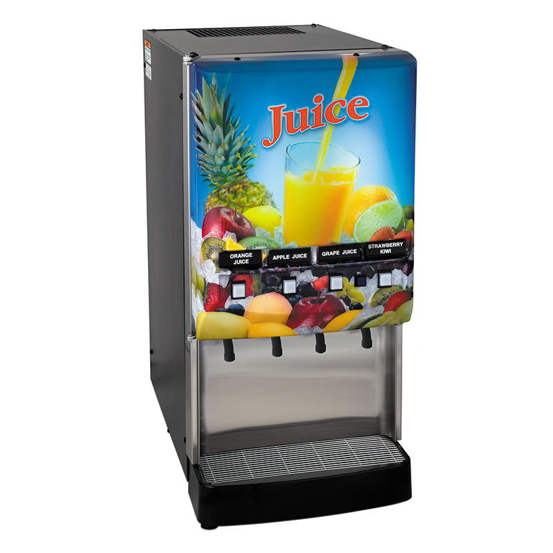 Bunn JDF-4S 4 Flavor Cold Beverage System, Water Dispense, Juice Display, 120v (37300.0006)