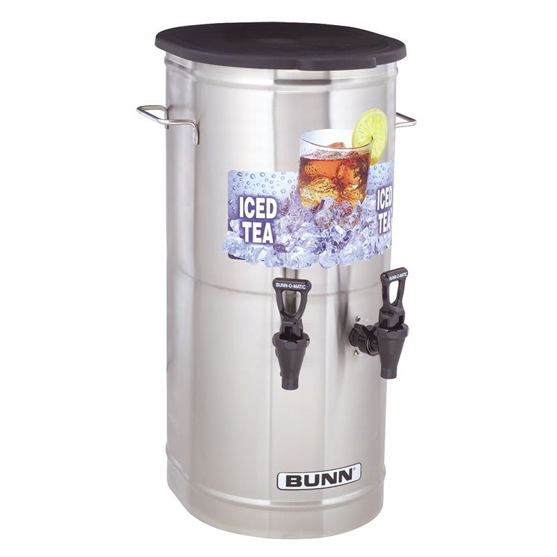 Bunn TCD-2-0002 Tea Concentrate Dispenser, 2-Faucets (37750.0002)