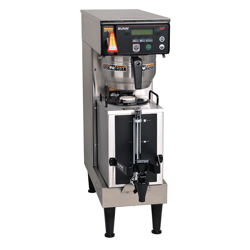 Bunn AXIOM 9-gal Coffee Brewer, Touch Pad & LCD Display, 120-240v/1ph (38700.0045)