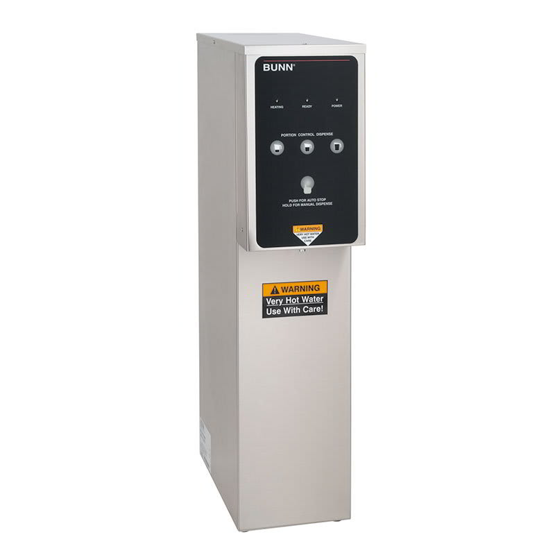 Bunn H5X-DV PC 5 gal Dual Voltage Hot Water Dispenser w/ Portion Control, 208v/1ph (39100.0005)