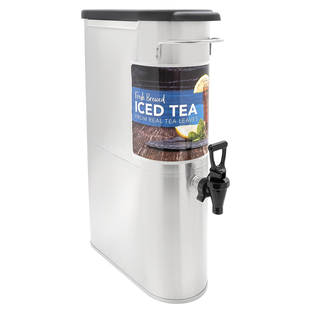 Bunn TDO-N-3.5-0001 3.5-gal Narrow Iced Tea Coffee Dispenser w/o Handles (39600.0001)