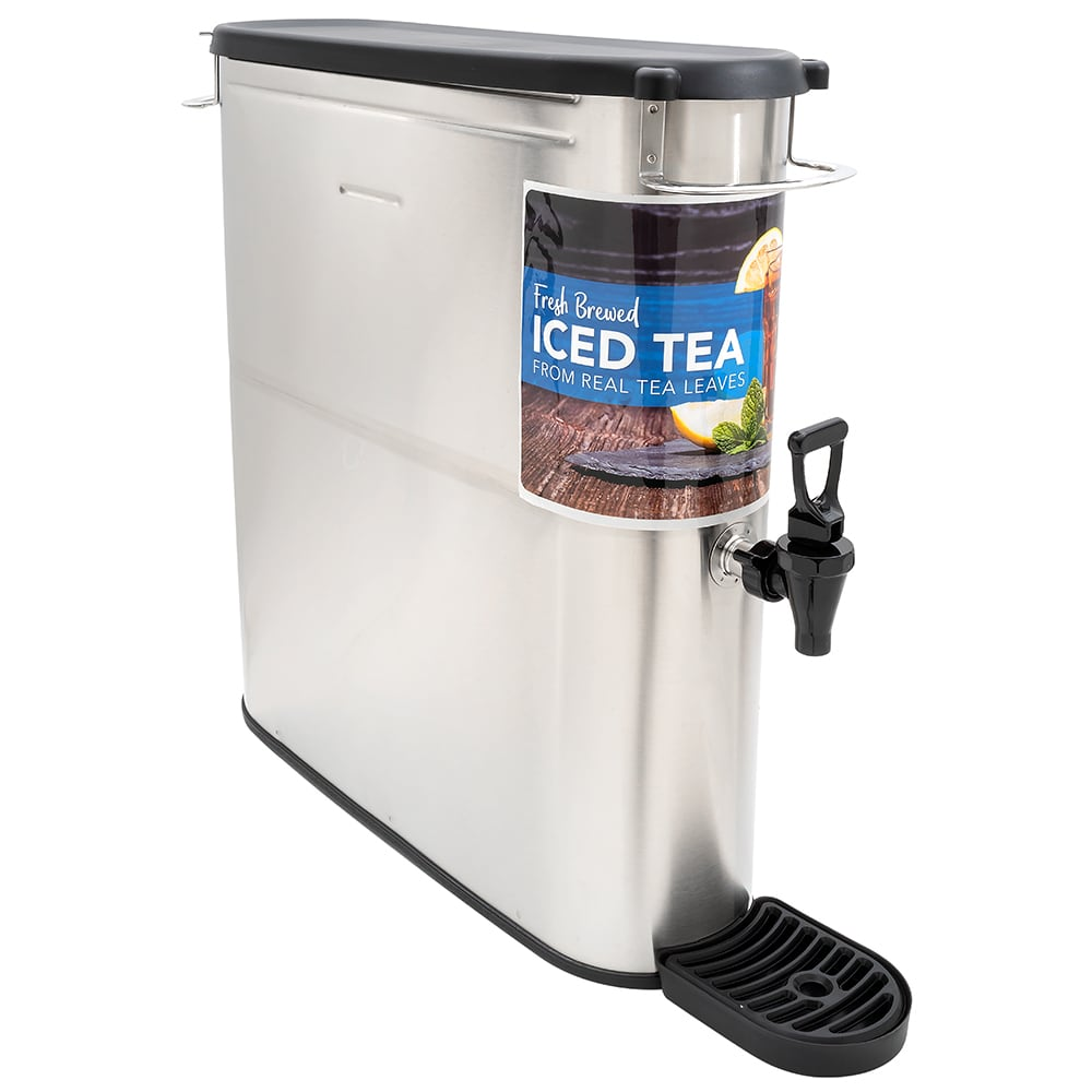 Bunn TDO-N-4-0002 4-gal Narrow Iced Tea Coffee Dispenser w/ Handles (39600.0002)