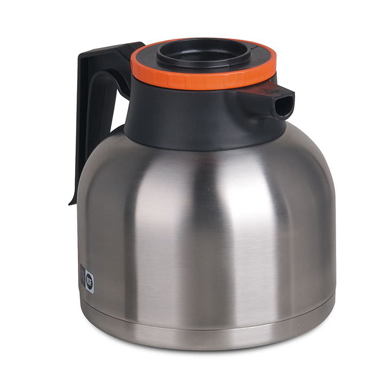 Bunn TC-ECON-0001 Thermal Carafe, 1.9 Liters (64 oz), Brew-Thru Lid, Orange Lid (51746.0003)