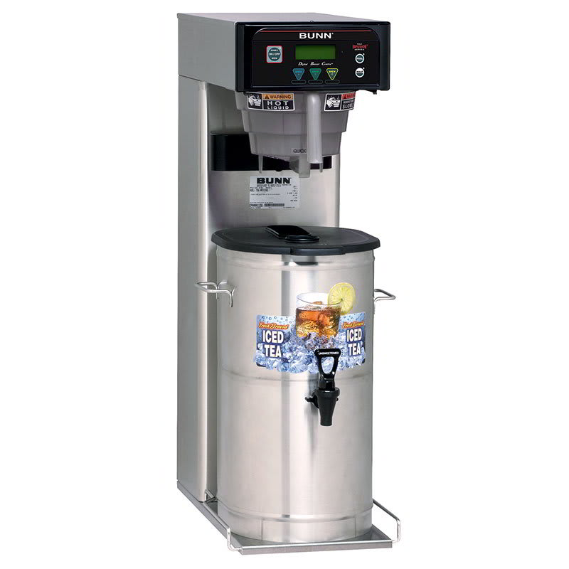 Bunn ITB-0001 5-Gal Iced Tea Brewer, Digital Controls & Sweetener, 120 V (41400.0001)