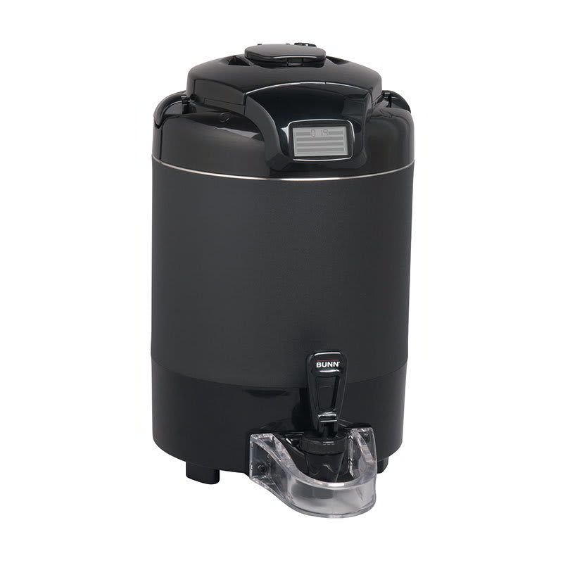 Bunn TF-1.5G-BLK-NO B Coffee Server w/ 1.5-gal Sight Gauge & Brew-Through Lid, Black (42750.0051)