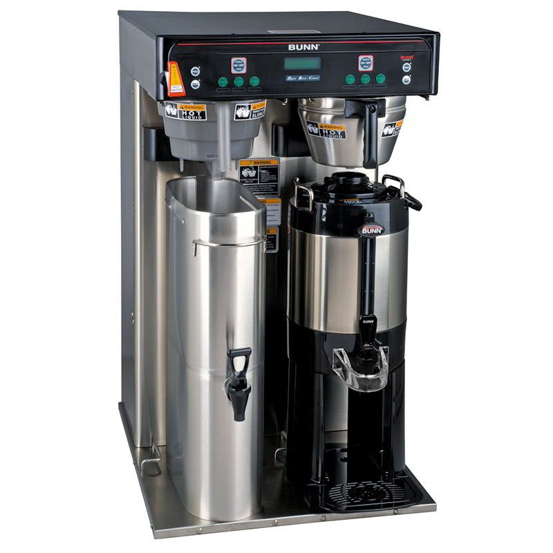 Bunn ITCB HV TWIN Twin Tea Coffee Brewer w/ 5.5 Gallon Tank & Digital Control, 120-240v/1ph (43100.0000)