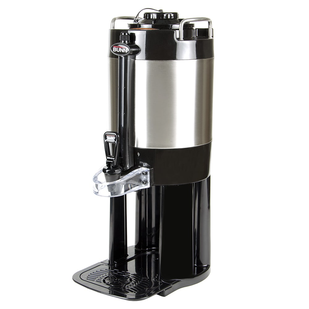 Bunn TF 1.5 gal Portable Server w/ Base for Single/Double ThermoFresh Brewers, Stainless (44050.0000)