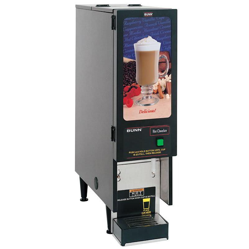 Bunn FMD-1-0196 FMD-1 BLK Hot Powdered Drink Machine, Standard Display (SET00.0196)
