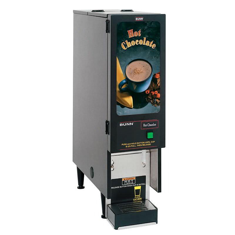 Bunn FMD-1 Hot Powdered Drink Machine, Hot Chocolate Display, 120v (SET00.0203)