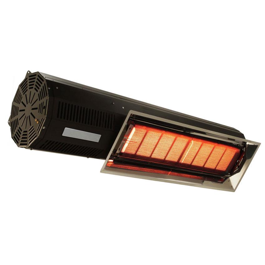 "Berner BPL-HAB40NBL 47.5"" Patio Heater - 32,000-40,000-BTU, Black, Natural Gas"