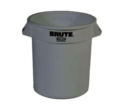 InSinkErator 10GAL BIN 10-gallon Brute Trash Can - Plastic, Round