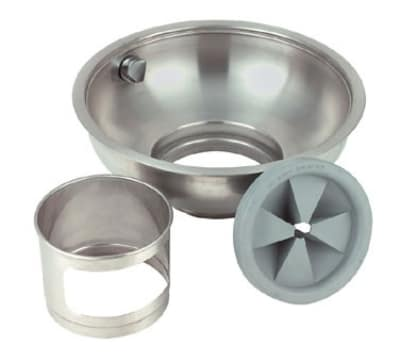 "InSinkErator 12B BOWL ASY 12"" B-Type Bowl Assembly w/ Splash Baffle, Nozzle & Bowl Cover"