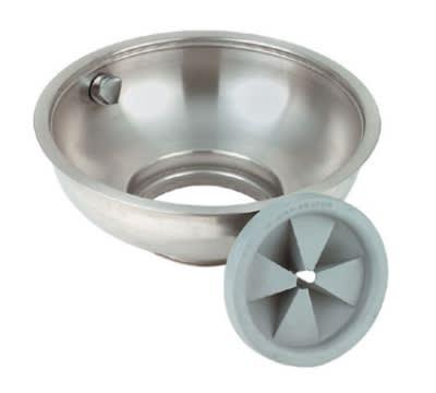"""InSinkErator 15C BOWL ASY 15"""" C-Type Bowl Assembly w/ Splash Baffle & Nozzle"""