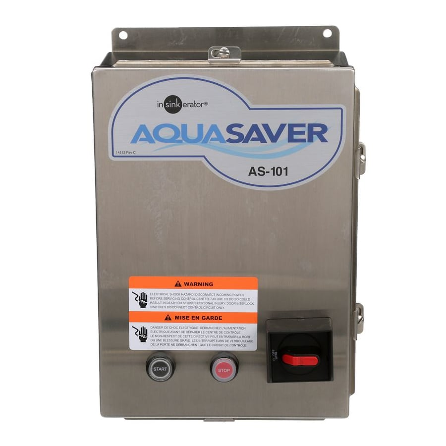 InSinkErator AS101K-5 Aqua Saver System For InSinkErator Foodservice Disposers, 120 V