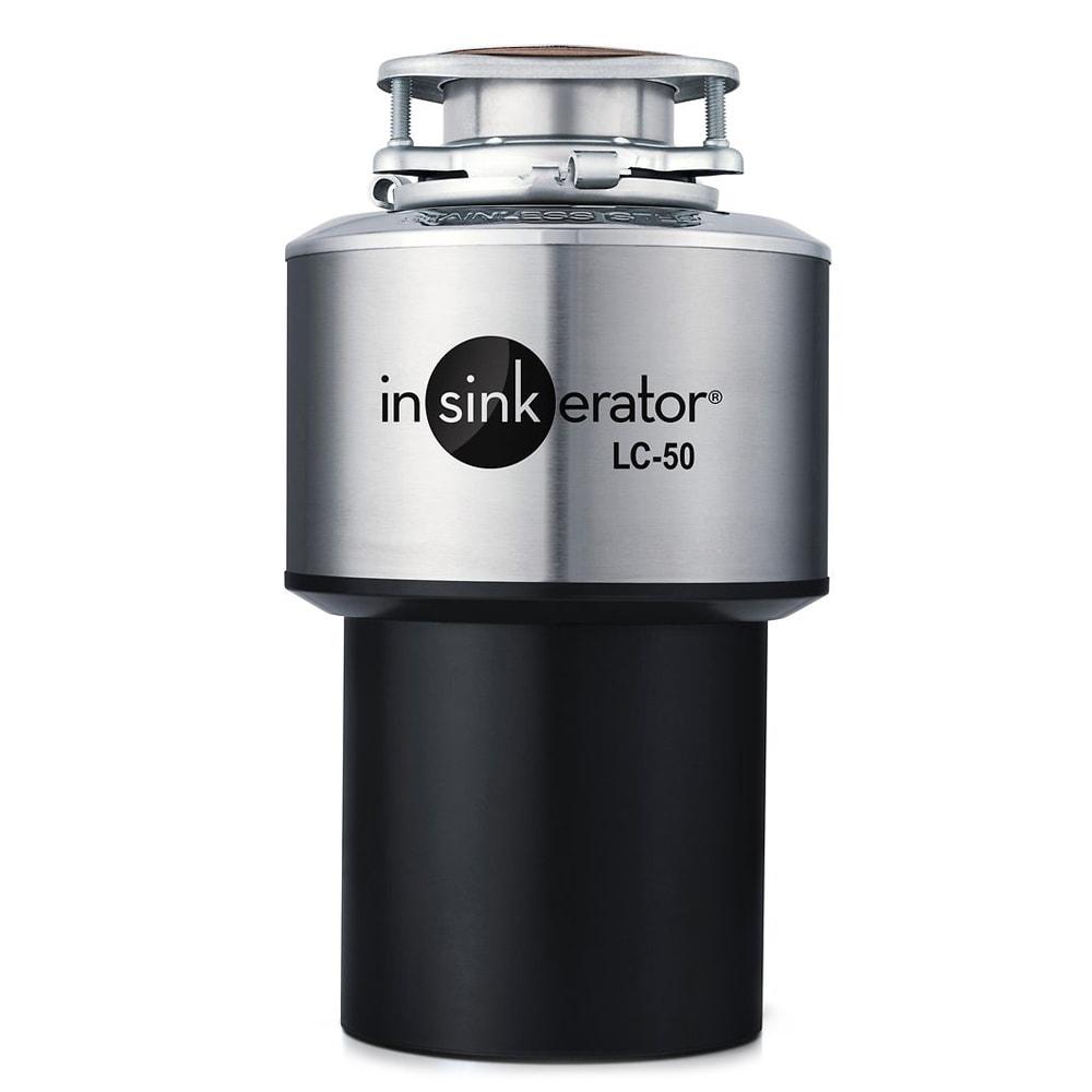 InSinkErator LC-50 Light Commercial Disposer, Automatic Reversing Motor, 120V/1PH