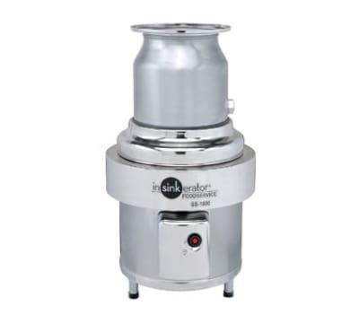 InSinkErator SS-1000 4603 Basic Unit Disposer w/ 10-HP Motor, Stainless, 460/3 V