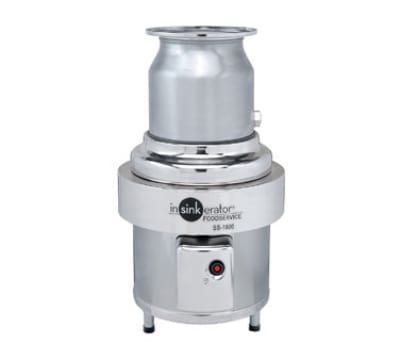 InSinkErator SS-1000-6-CC202 208 Disposer Package w/ #6-Adapter & CC202 Panel, 10-HP, 208/3 V