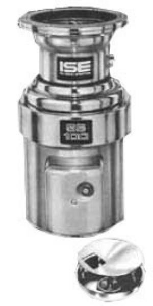 InSinkErator SS-100-18A-MS Complete Disposer Package, 1 HP, 18 in Diameter Bowl, 115V/1PH