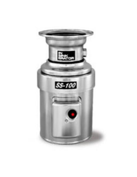 InSinkErator SS-100-6-MS Complete Disposer Package, 1 HP, #6 Adaptor, 115V/1PH