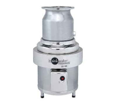 InSinkErator SS-750-6-CC101 460 Disposer Package w/ #6-Adapter & CC101 Panel, 7.5-HP, 460/3 V