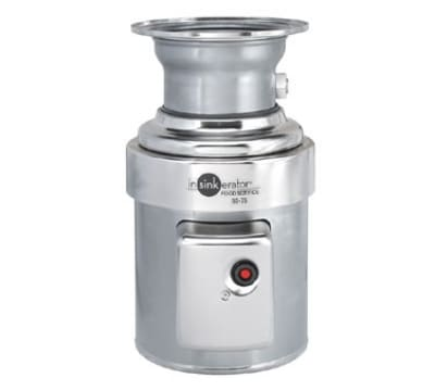 InSinkErator SS-75-12B-MSLV 2081 Disposer Pack, 12-in Bowl, Sleeve Guard, Low V Switch, 3/4-HP, 208/1