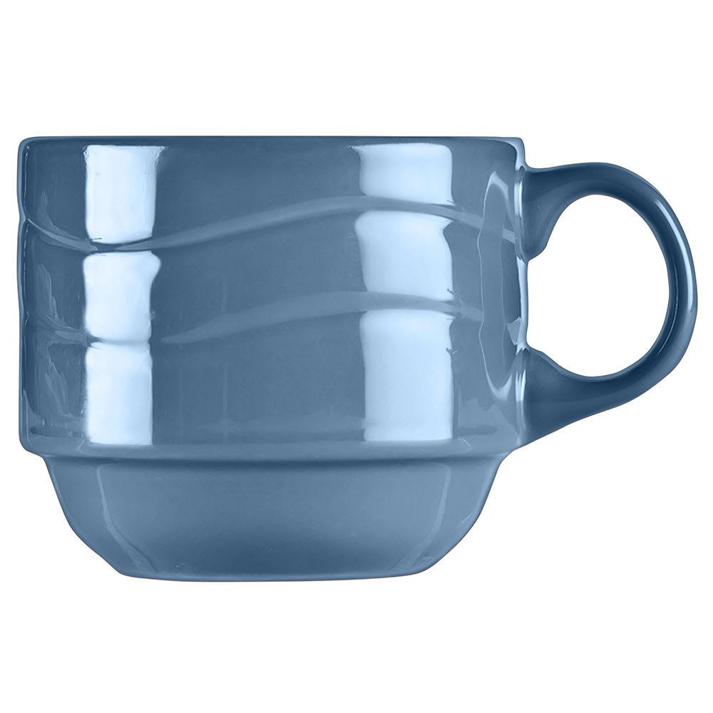 Syracuse China 903032200 9-oz Cantina Cup - Glazed, Blueberry