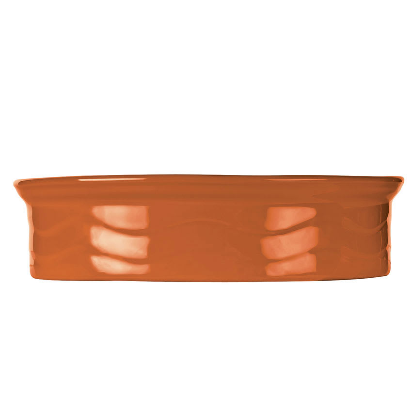 "Syracuse China 903034501 7.5"" Round Tortilla Warmer Lid for 903033500, Cantina, Cayenne"